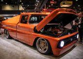SEMA Show 2019 - 450 lovas, elektromos hot rod - Chevy E-10