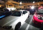 Ilyen volt a Daikoku parkoló élőben.