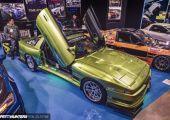 Tokyo Auto Salon 2020 - Toyota Supra Mk3, nem a mai trendek szerint.