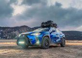 Érdekesség - Lexus UX terepezésre átalakítva.