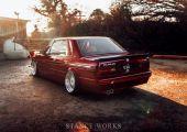Ritkaság a köbön! - BMW E30 kabrió, különleges tetővel.