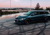 A legtökéletesebb családi autó - Mitsubishi Lancer EVO kombi