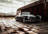 Álomautó, kimaxolva - Mercedes 190SL