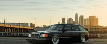 Kombiné turbofanokkal. - Mercedes W124