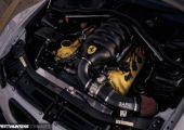 Pandem szett és Ferrari motor - BMW E93 M3