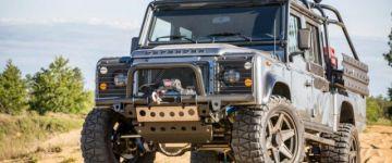 Érdekesség - Land Rover Defender szteroid kúra után.