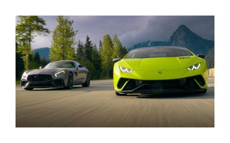 Carporn - Egzotikus sportautókkal a hegyekben.