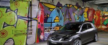 Többfunkciós szerkezet - Mazda 3 MPS