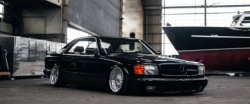 Az igazi Főnök! - Mercedes Benz 560SEC