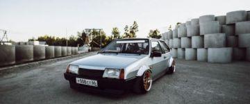 Japán stílus, orosz alap - Lada Samara