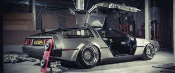 Érdekesség - Ültetett DeLorean