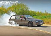 Csöves munkásautó.....550 lóval! - Ford Sierra
