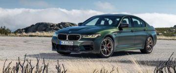 Mindenből a leg! - BMW M5 CS
