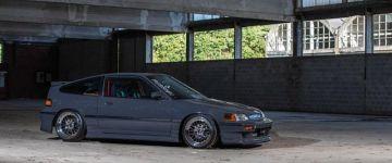 A család kedvence - Honda CRX