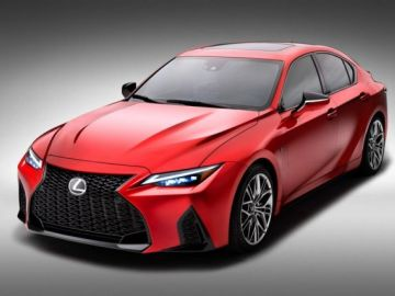 Érdekesség - Lexus IS 500