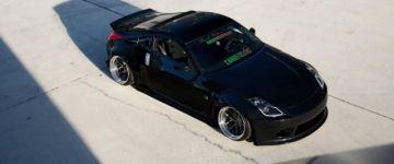 Nem kell műanyag ív! - Nissan 350Z