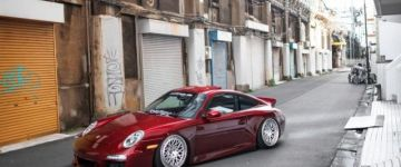 Sportos német, Japánban - Porsche 997
