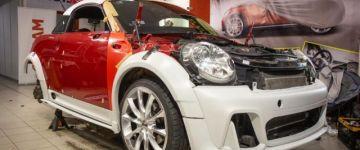AMTS 2021 - Mini Cooper Coupe élő autóépítés #3