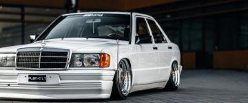 Örökölt szenvedély - Mercedes 190E