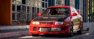 Ritkaság - Mitsubishi Lancer EVO VI Tommi Makinen Edition