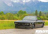 Ritka alap a mai trendek szerint. - BMW E9