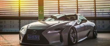 Lexus LC Kínából