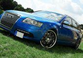 Vermilion Wheels Audi S6