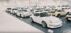 Szupertitkos Porsche gyűjtemény! - Porsche White Collection