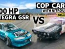 Ki lesz a jobb? - Honda Integra vs. '67 Cuda