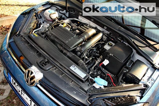 Teszt VW Golf7 TSI DSG übergolf