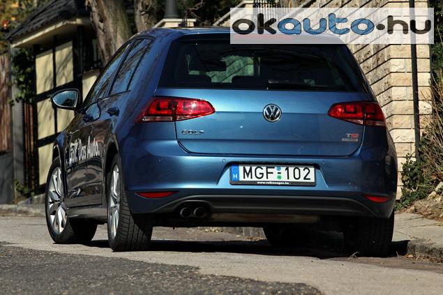 Teszt VW Golf 1.4 TSI DSG Highline