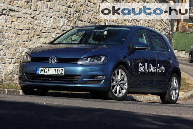 Teszt VW Golf 7 1.4 TSI DSG