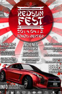 RED SUN FEST  Évadnyitó Japán Autós Találkozó 2014.04.13.