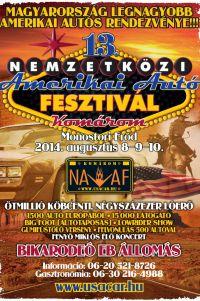 13. Nemzetközi Amerikai Autó Fesztivál - NAAF
