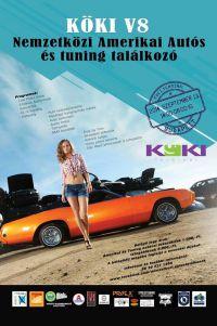 Köki V8 - Nemzetközi Amerikai és Tuning Autós Találkozó