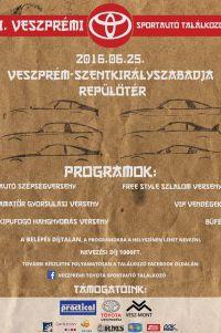 I. Veszprémi Toyota Sportautó Találkozó