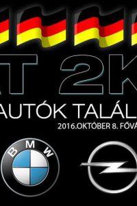 Német Autók Találkozója - NAT 2K16