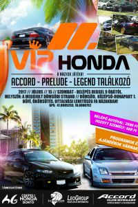 II. VIP Honda // Accord,Prelude, Legend találkozó! Július 15.