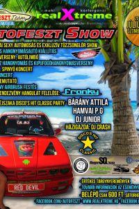 RealXtreme Autofeszt SHOW · DiscoShit PARTY · Muhi tó · Júl. 22.