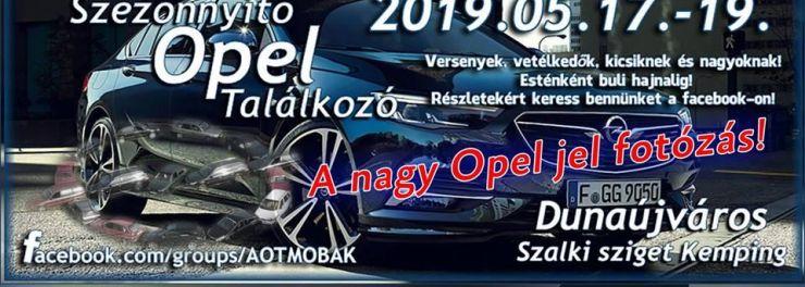 Szezonnyitó Opel Találkozó 2019