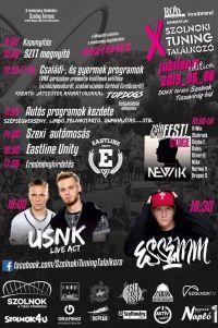 X. Szolnoki Tuning Találkozó jubileum edition - USNK LIVE ACT