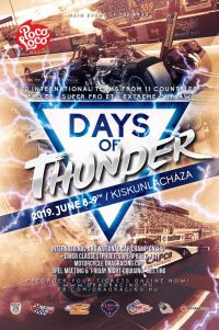 Days of Thunder + drag ob, Opel tali és péntek esti cruising tali