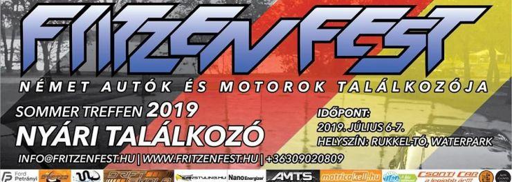 FritzenFest, Német Autók és Motorok Nyári Találkozója 2019