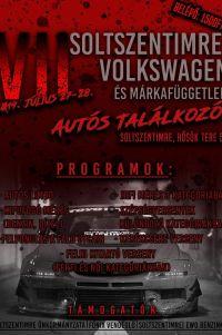 VII. Soltszentimrei Volkswagen és Márkafüggetlen autós találkozó