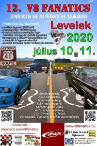 12. V8 Fanatics Amerikai autóstalálkozó Levelek
