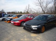 Honda talin 2011.03.13. Már az új fronttal.