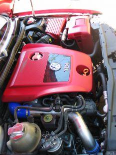 Új motor beszerelve