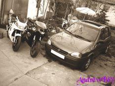 Motorok + Autó