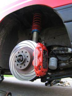 Subaru fék és H&R Gewinde
