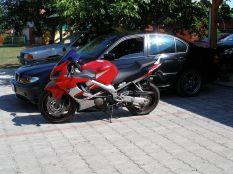 BMW E46 + Honda CBR 600F